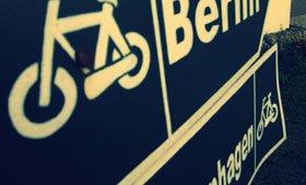 Schild, Fahrrad