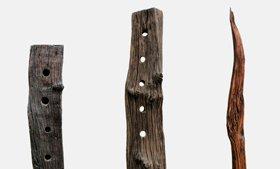 Exclusive Weinständer & Skulpturen aus Massivholz